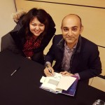 So exciting! fanmoment mohsinhamid exitwest toronto booktour mohsinhamid