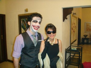 The Joker and Holly Golightly