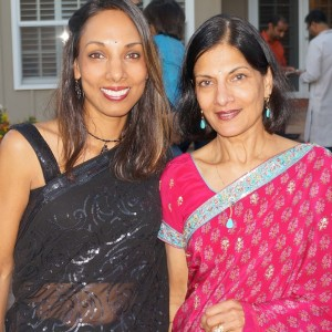 Rupali with her mother (photo courtesy: Rupali Drewek)